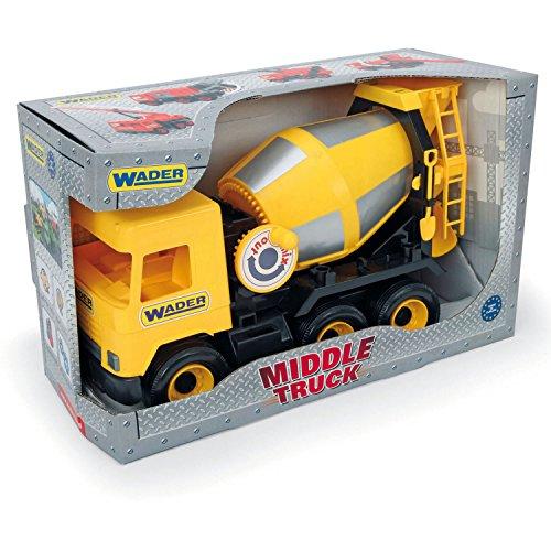 Middle Truck betoniarka żółta w kartonie