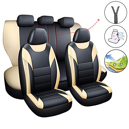 Set di coprisedili per auto, adatti per airbag Captur Clio Kadjar Laguna Talisman Vectra Avensis Hilux