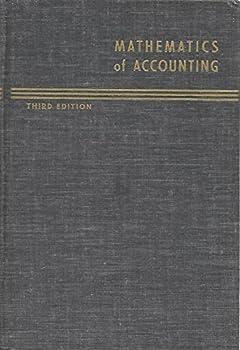 Hardcover Mathematics Of Accounting Book
