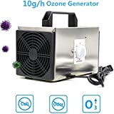 Portable Ozone Generator Home Air Ionizers 10000mg/h High Capacity Commercial Household Ozone Machine Home Air Ionizers for Rooms Smoke Cars and Pets 110V