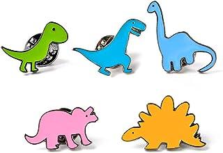 PULABO 5 Pcs Cartoon Broches Dinosaure Label Pin Badges Veste Chemises Décor Très Pratique et Populaire avantage