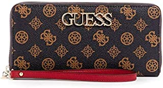 GUESS Womens Small Leather Goods, Brown (Brown Multi) - SP730146