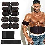 BALFER Stimolatore Muscolare, Elettrostimolatore Addominali Uomo e Donna, Braccia,...