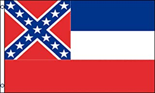 Best Flags Mississippi 3x5ft Poly Flag, Multicolor