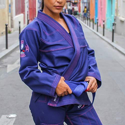 Bõa BJJ Gi Kimono Donna Deusa Navy - Blu Scuro, F1