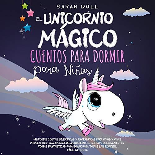 Diseño de la portada del título El Unicornio Mágico