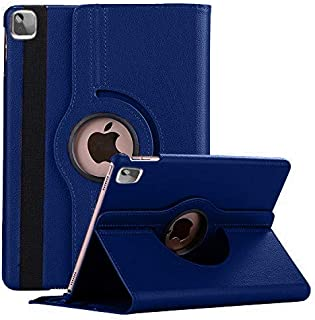 Robustrion Smart 360 Degree Rotating Stand Case Cover for iPad Air 4 10.9 inch 2020 - Navy
