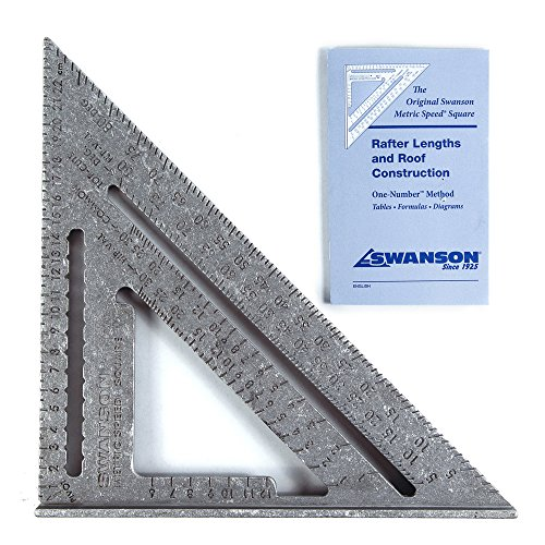 "Swanson Tool S0101- Squadra""Speed Square"" da 17,5 cm, NA202"