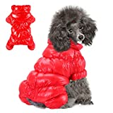 Winter Puppy Dog Coat Jacket for Small Medium Dogs...
