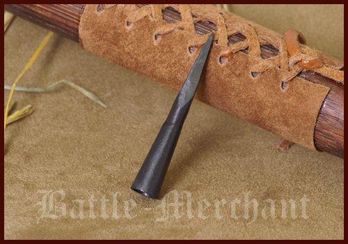 Battle-Merchant Cuerpo de aguja, punta de flecha forjada a mano, forma cuadrada.