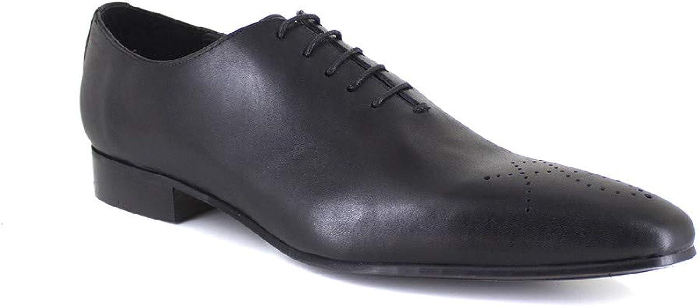 J.Bradford Richelieu Black Leather JB-Maitland