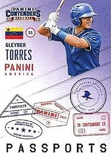 2015 Panini Contenders Passports - Gleyber Torres Baseball Rookie Card #8
