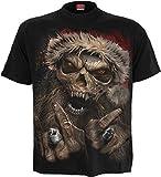 Spiral - Rock Santa - T-Shirt - Noir - L