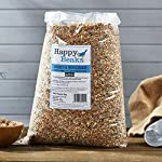 Happy Beaks Robin & Songbird Seed Mix Wild Bird All Season Premium No Mess Bird Food