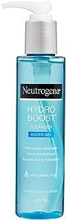 Neutrogena Hydro Boost Water Gel Cleanser, Transparent, 145 ml