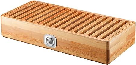 SXLCKJ Calentador de Espacio de Calentamiento rápido Calentador hogar Parrilla de Madera Maciza Caja de Fuego Individual pequeña Estufa eléctrica Barril artif (Regalos de Chimenea eléctrica)