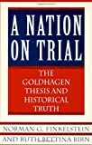 A Nation on Trial: The Goldhagen Thesis and Historical Truth - Norman G. Finkelstein