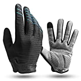 Cool Change Full Finger Bike Glove Touch Screen Gel Padded Winter Thin Cycling Gloves for Mens Women...