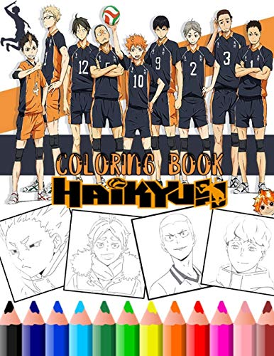 Haikyuu: New Haikyuu Anime & manga Coloring Pages with haigh quality...