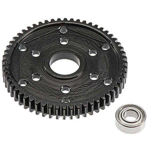 Robinson Racing Products Steel 56T Stock Repl 32P Gear Black SCX10 SMT10, RRP1549