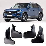 MMI-LX Set for Volkswagen VW T-ROC T Roc Troc 2017 2018 2019 Coche Guardabarros Aleta del Fango Flaps Guardabarros Fender Mudflaps Accesorios del Coche