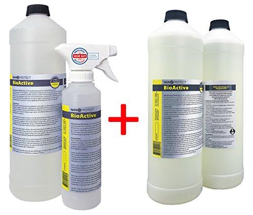 BioActive Geruchsneutralisierer Konzentrat | Biologischer Geruchsentferner mit speziellem Wirkbeschleuniger | Vorteilspaket für 6 Liter | Natürlich & Hygienisch
