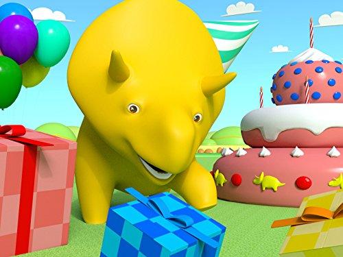 Dino feiert eine Geburtstagsparty / Lernt das ABC Lied mit Dino dem Dinosaurier