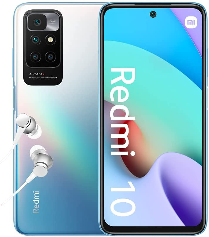 Xiaomi Redmi 10 - Smartphone 4+64 GB, 6,5