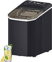 KSDCDF Machine à glaçons à comptoir avec auto-nettoyage, machine à glaçons automatique compacte 24h, 9 cubes prêts en 6-8 ...