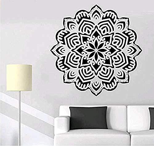 Lotus Art Etiqueta de la pared Pintura Exposición Estudio Biblioteca Decoración Apliques Sala de estar Dormitorio Decoración del hogar Mural Vinilo 56cmx56cm