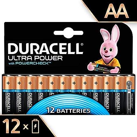 Duracell Ultra Power Type AA Alkaline Batteries, pack of 12