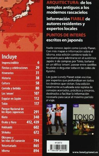 Japón 3 (Guías de País Lonely Planet)
