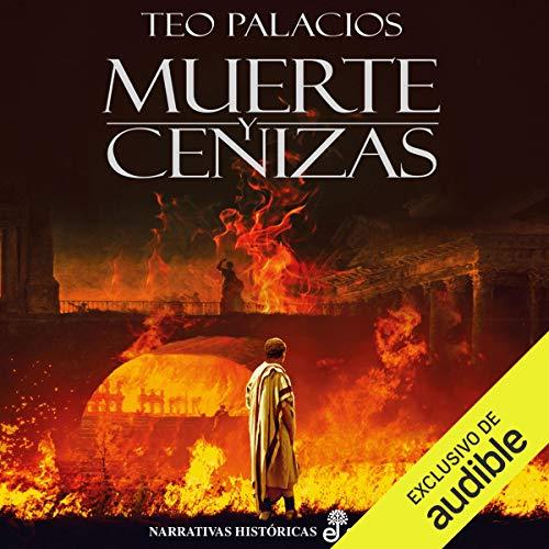 Diseño de la portada del título Muerte y Cenizas