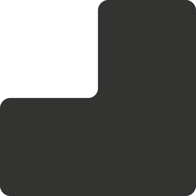 "5S Location Marking Corner 0.5x1"" Floor Desk Special sale item Sales results No. 1 Shaped Tabl L"