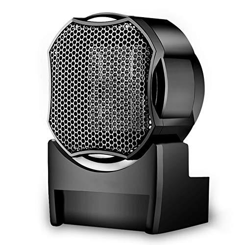JTYX Elektrische verwarming, ventilator, stil, draaggreep, voor binnen en buiten, kantoor, bureau-snel verwarmen