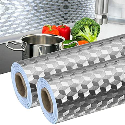 2 Stück Aluminiumfolie Küchentap...