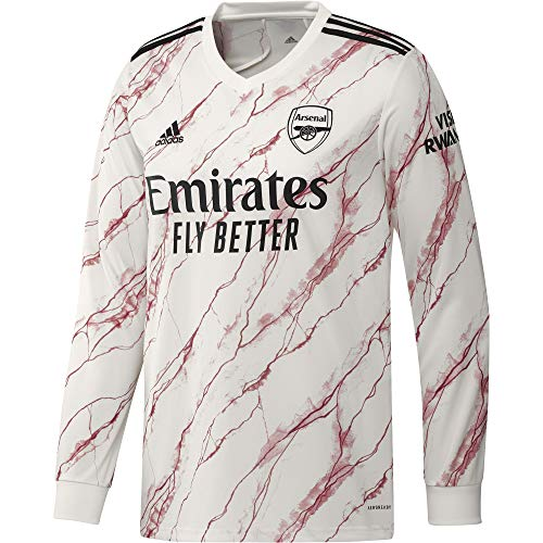 adidas 2020-2021 Arsenal Away Long Sleeve Football Soccer T-Shirt Jersey