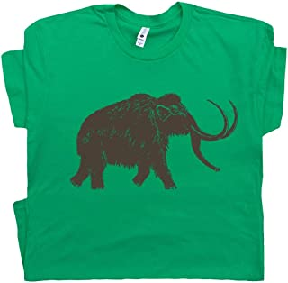 Big Wooly Mammoth T Shirt Woolly Elephant Shirts Dinosaur Animal Buffalo Men Women Kid Graphic Tee