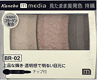 【カネボウ】 メディア グラデカラーアイシャドウ BR-02