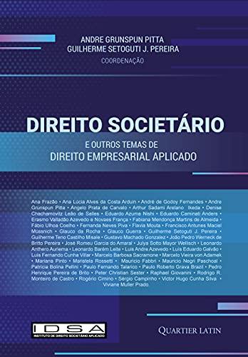 Direito Societário E Outros Temas De Direito Empresarial Aplicado