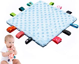 Baby Tags Security Blankets Soothing
