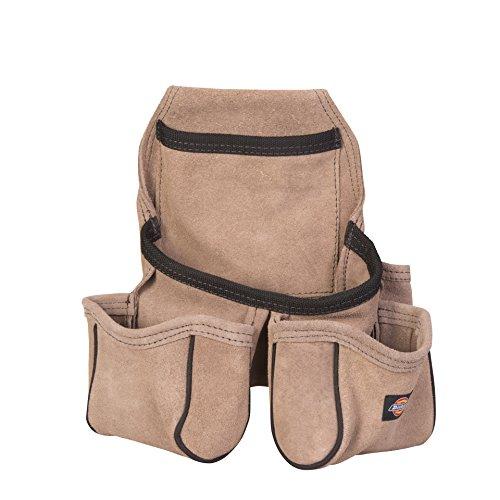 Dickies 57029 Werkzeugtasche aus Leder mit 4 Fächern