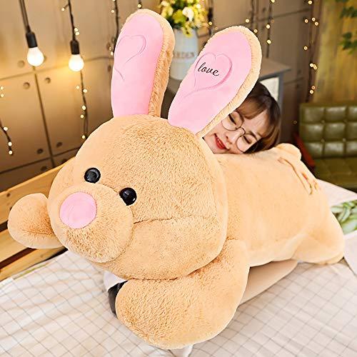 WZNING Leuk Konijn Zachte Knuffels Soft Gevulde Figurine Little White Rabbit Gevulde Animal Doll Sleep Pillow Op Bed Pluche Poppen for het Meisje van Ragdoll Gift van de Verjaardag
