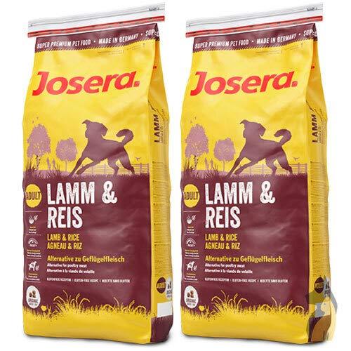 Josera 2 x 15 kg Lamm und Reis