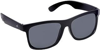 Fastrack UV Protected Wayfarer Men's Sunglasses - (P425BK3|56|Grey Color Lens)