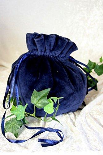 Dark Dreams Mittelalter Gothic Beutel Beutel Corax , Farbe:blau - 2