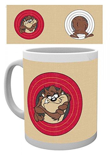 1art1 Looney Tunes - Taz Der Tasmanische Teufel Foto-Tasse Kaffeetasse 9 x 8 cm