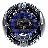 PNI HiFi650 - Altavoces coaxiales (120 W, 16,5 cm, 3 vías, 2 Unidades) Negro
