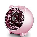 QHQH Réchauffeur d'espace Personnel Portable Protection Anti-Surchauffe Appareil de Chauffage en céramique PTC pour Petite Espace Maison Bureau Domicile(White, Pink, Blue)