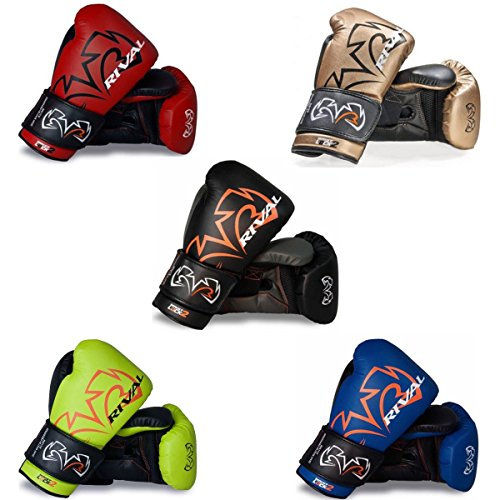 RIVAL Evolution Boxing Sparring Gloves - Red - 16